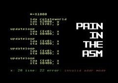 Pain In The Asm