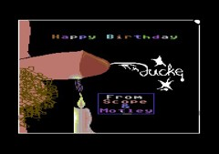 Happy Bithday Jucke